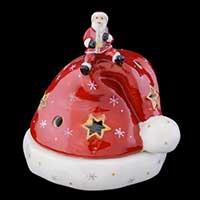 Villeroy & Boch Christmas Light Weihnachtsmann auf Mütze