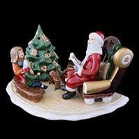 Villeroy & Boch Christmas Toys Santa mit Buch
