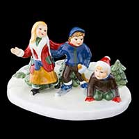 Villeroy & Boch Christmas Toys Szene Eislaufen