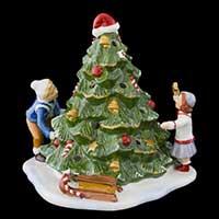 Villeroy & Boch Christmas Toys Kinder schmücken Baum