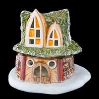 Villeroy & Boch Mini Christmas Village Lichthaus Zwergenhaus