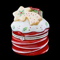Villeroy & Boch Winter Bakery Decoration Dose Treat Kuchen