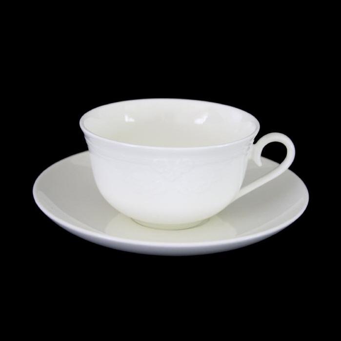 Teetasse + Untertasse