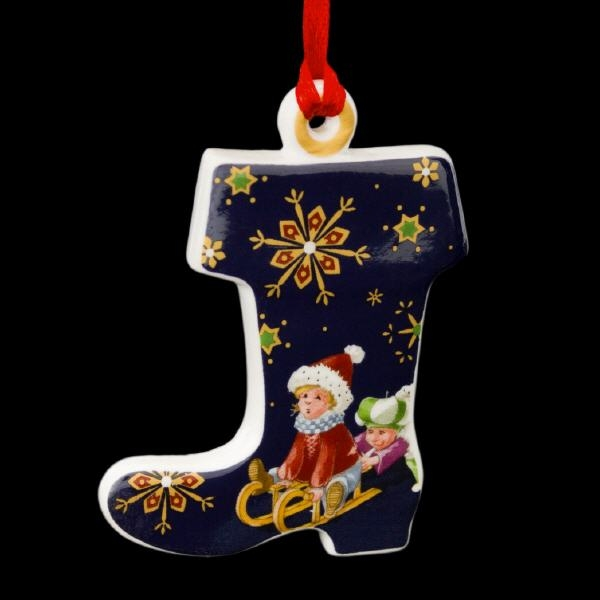 Villeroy & Boch My Christmas Tree Ornament Stiefel