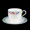 Villeroy & Boch Indian Look Espressotasse + Untertasse...