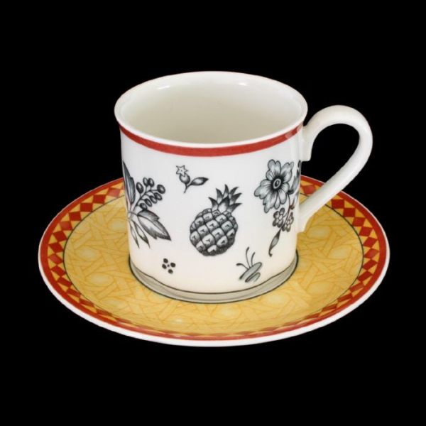 Villeroy & Boch Switch Plantation Kaffeetasse + Untertasse