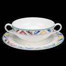 Villeroy & Boch Indian Look Suppentasse + Untertasse Neuware