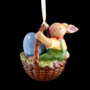 Villeroy & Boch Bunny Family Ornament Korb mit Hasenjunge